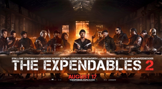 Dr. Kronner's Joy: THE EXPENDABLES 2