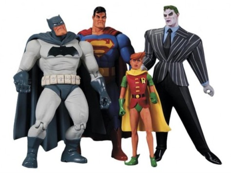 dark knight returns action figure dc collectables set