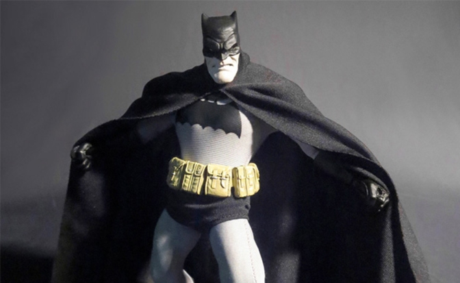 Mezco's Dark Knight Figure Owns The Night