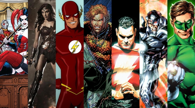 Warner Bros. Releases DC Film Slate, Ten Movies Coming By 2020