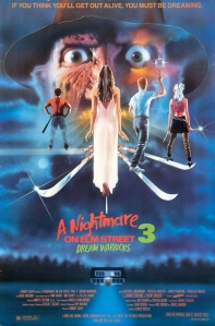 halloween theme tunes nightmare on elm street 3 poster