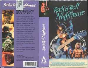 halloween theme tunes rock and roll nightmare
