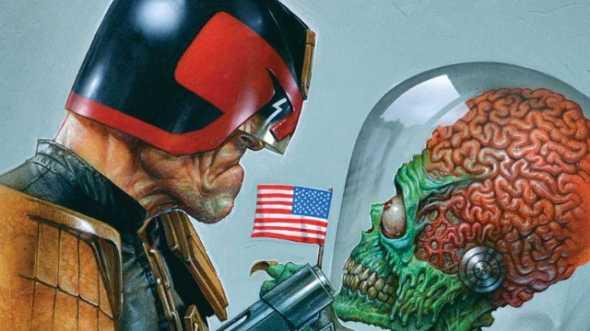 judge dredd vs mars attacks