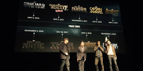 Marvel Studios Phase Three feat