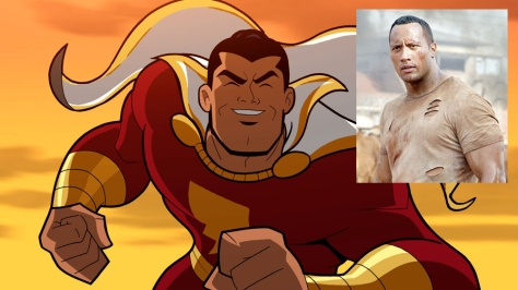 Shazam and the Rock