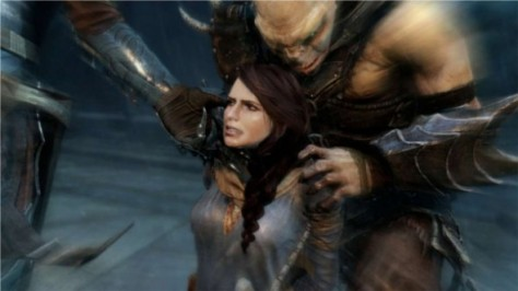 This is your wife in Shadow of Mordor, who you love very much despite not remembering her name.
