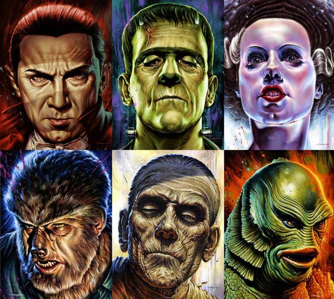 Image result for classic monsters