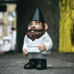 A CLOCKWORK ORANGE GNOME - $39.19