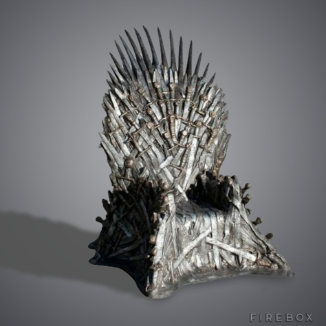 GAME OF THRONES REPLICA IRON THRONE - $31, 381