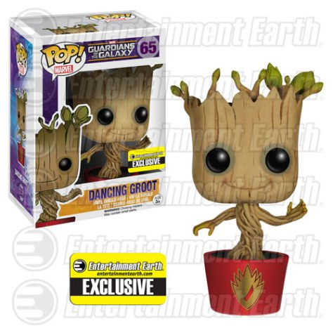 marvel dc collectibles dancing groot 1