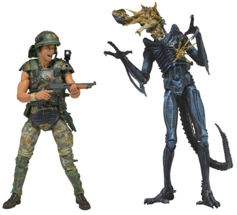 NECA aliens line series 3 exploding alien