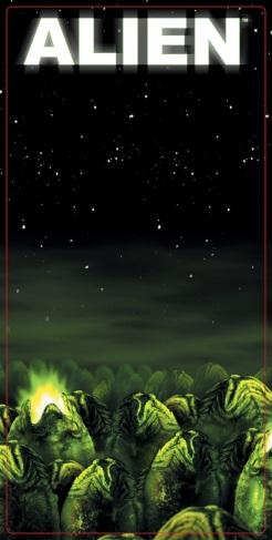NECA aliens line series 3 package art 1
