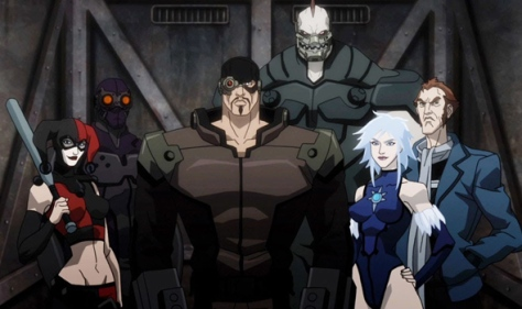 Suicide Squad in Assault on Arkham