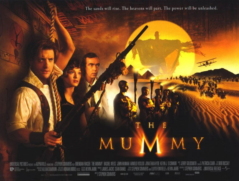 Image result for the mummy 1999 movie poster