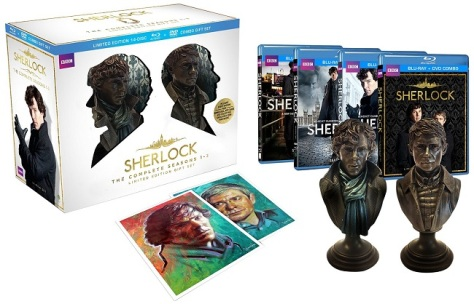 Sherlock Limited Edition Blu-Ray Box set ( Image: Amazon)
