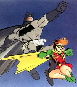 Frank Millers Batman and Robin