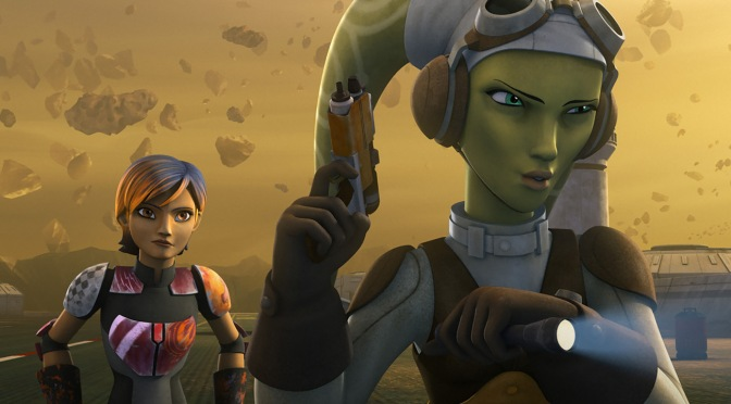 Star Wars Rebels: Female Figures Bring Some Girl Power To The Force