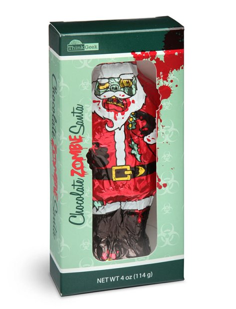 horror xmas products think geek choc santa