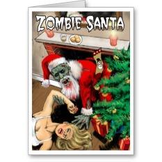 horror xmas products zazzle card 3