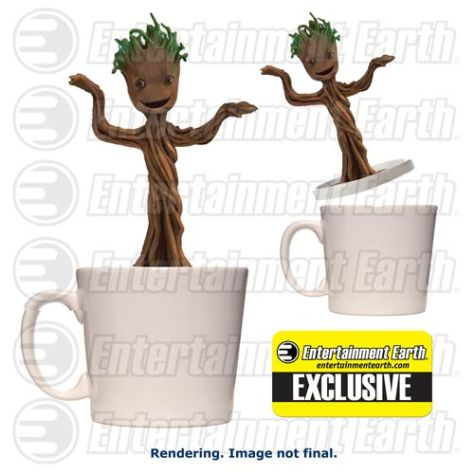 marvel dc collectibles dancing groot 2