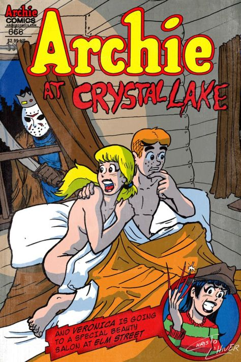 archie team ups crystal lake