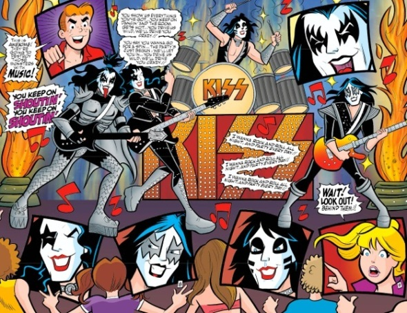archie team ups kiss 2