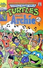 archie team ups meets turtles