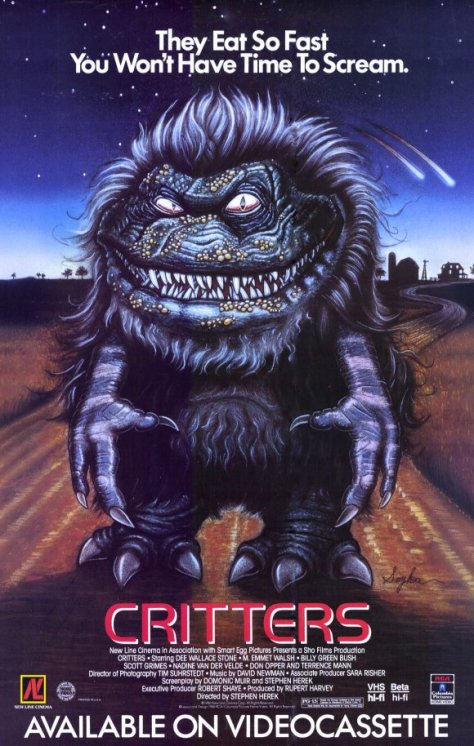 critters return in fan film poster