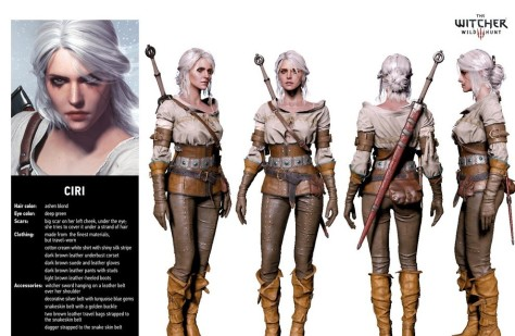 Ciri cosplay guide