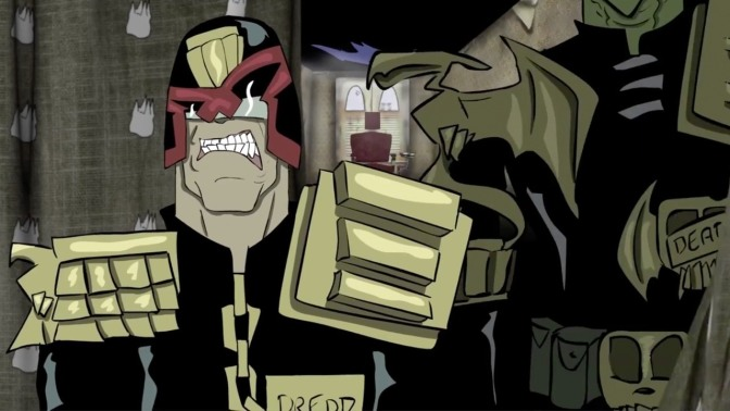 Judge Dredd: Fan Films And Animation Keep Character Alive Onscreen