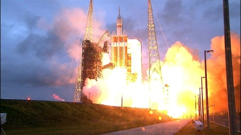 Orion takes flight (Image:NASA)