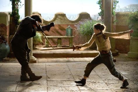 Syrio Arya training