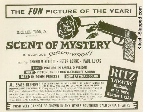 cinema gimmicks smell o vision