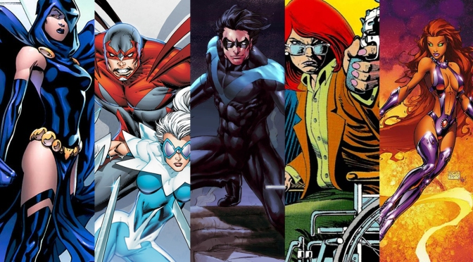 Titans: TNT Reveals Roster For Live Action DC Show