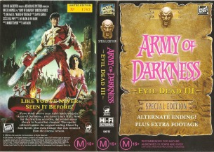 evil dead art evil dead army of darkness 1