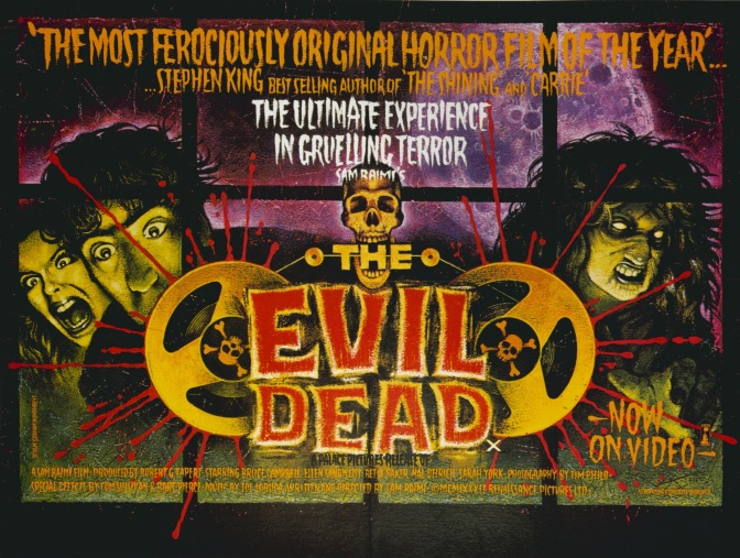 Promotional Dead: The DVD, Poster And VHS Art of The Evil Dead