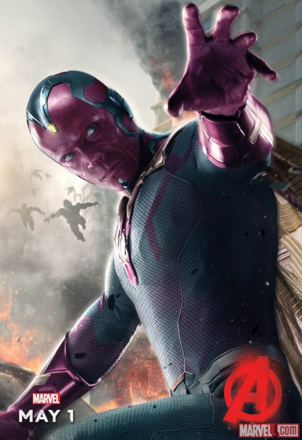 Avengers Age of Ultron Vision Character Poster