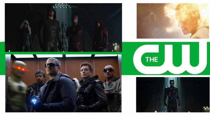 Arrow and Flash Blow Off Steam in Superhero Fight Club
