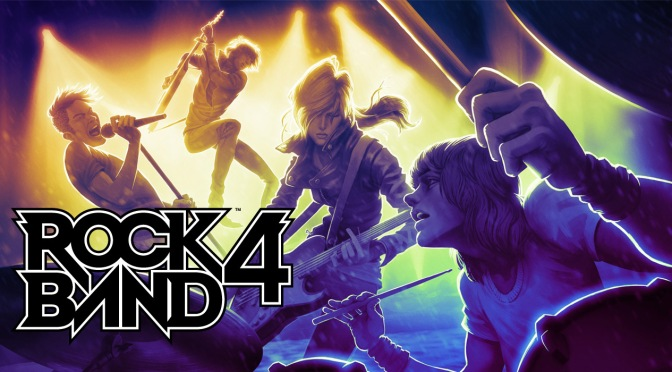 Rock Band 4: The Return Of The Plastic Instruments
