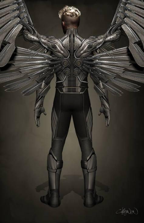 X-Men Apocalypse - Angel Concept 1