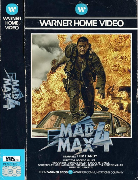 mad max fury road vhs