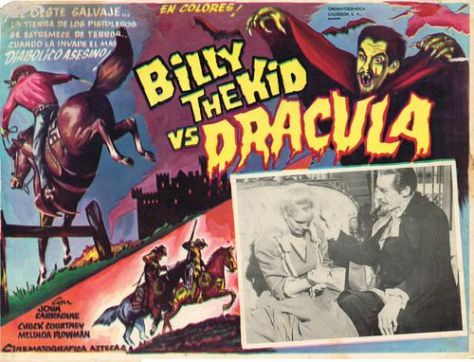 mashup movies billy kid vs dracula
