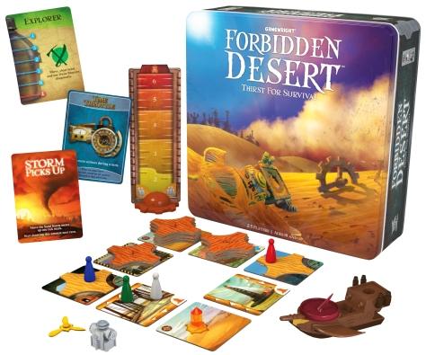 table top forbidden desert lead in