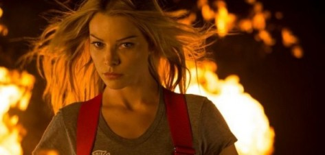 Lauren German on Chicago Fire (NBC)