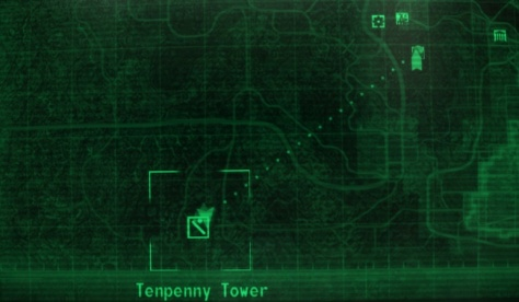 Fallout tenpenny tower map