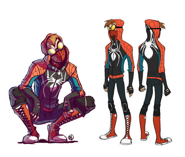 Rosy Higgins Project Rooftop Spidey Redesign