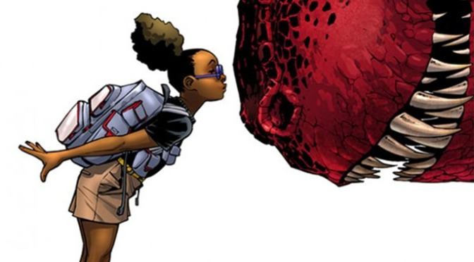 Marvel Creates a New Breed of Superhero with Moon Girl & Devil Dinosaur