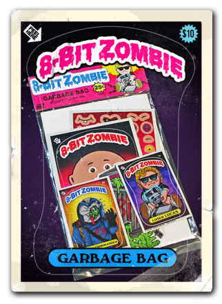 8 bit zombie garbage kids extras