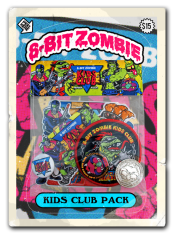 8 bit zombie homemade pack
