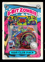 8 bit zombie homemade pack